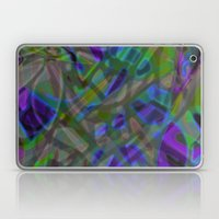 Colorful Abstract Stained Glass G301 Laptop & iPad Skin