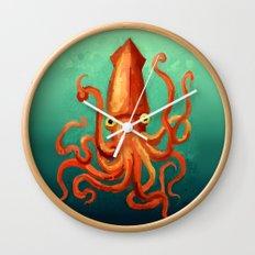Giant Squid Wall Clock