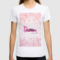 drive Womens Fitted Tee Ash Grey SMALL