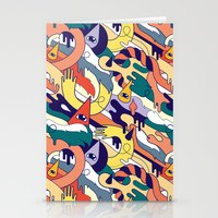 all over Stationery Cards