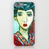 LADY MATISSE IN TEEN YEARS iPhone 6 Slim Case