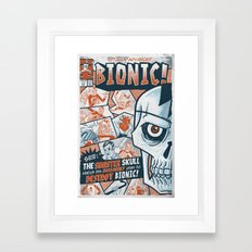 BIONIC! Framed Art Print