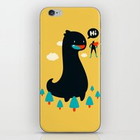 Safe from Harm iPhone & iPod Skin