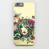 iPhone Cases featuring Beauty Before Death by Alice X. Zhang