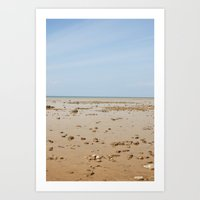 Sun And Sand Color Natur… Art Print