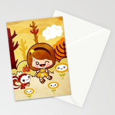 Fall in the Forest Stationery Cards