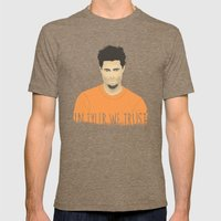 In Tyler we trust Mens Fitted Tee Tri-Coffee SMALL