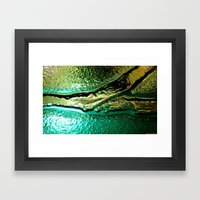 Microscopic part 1 Framed Art Print