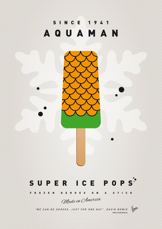 My SUPER ICE POP- No04 Art Print