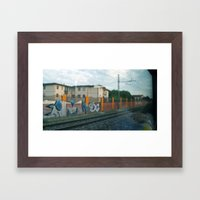 going Framed Art Print
