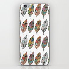 Wall of feathers iPhone & iPod Skin