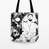 B & W  No.5 Tote Bag