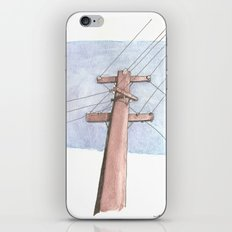 In a Network of Lines that Intersect iPhone & iPod Skin
