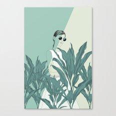 The Blue Nature Canvas Print