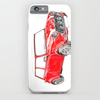 Red Mini Cooper iPhone 6 Slim Case