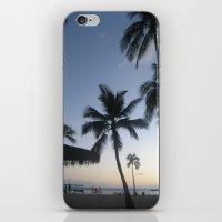 Blue Hawaiian Sunset iPhone & iPod Skin