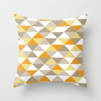 Triangle Pattern #1 Throw Pillow