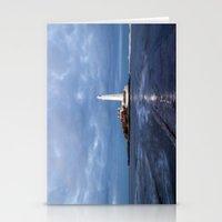 Dusk At St Mary's Lighth… Stationery Cards