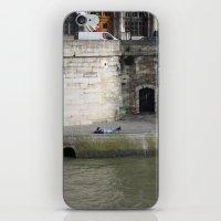 Naptime In Paris iPhone & iPod Skin