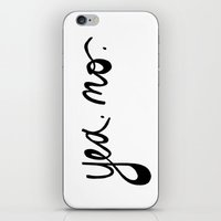 yea. no. iPhone & iPod Skin