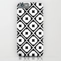 Graphic_Tile Black&White iPhone & iPod Case