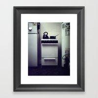 Stove. Framed Art Print