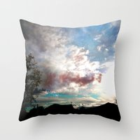 Fantasy Of A Blind Reali… Throw Pillow