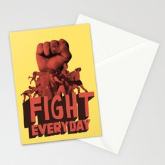 FIGHT EVERYDAY Stationery Cards