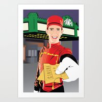 Tampa Theater Movie Ushe… Art Print