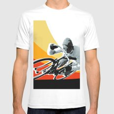 speed demon White Mens Fitted Tee SMALL