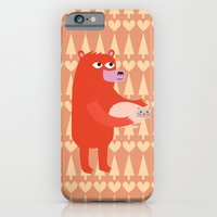 Bear and cat BFF iPhone 6 Slim Case