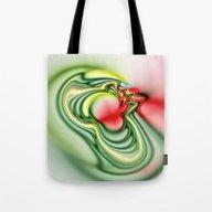 Tote Bag featuring Water Circles by Brian Raggatt