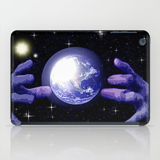 In good hands. iPad Case