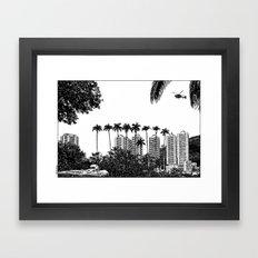 asc 596 - La fille de Rio (The adventure in Rio) Framed Art Print