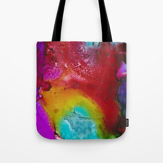 Ink Splash Tote Bag