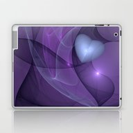 A Lonely Heart Fractal A… Laptop & iPad Skin
