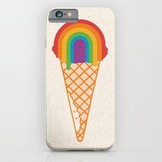Rainbow Scoop iPhone 6 Slim Case