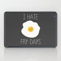 I Hate Fry-Days iPad Case