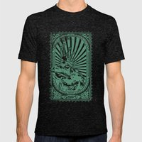 Frog king Mens Fitted Tee Tri-Black SMALL