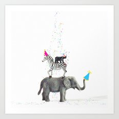 Party Animals Art Print