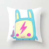 Baby Lemi The Space Wand… Throw Pillow