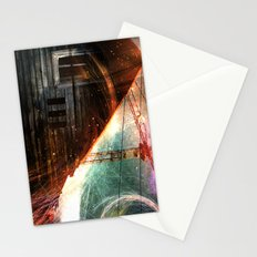 Derelict window Stationery Cards