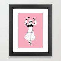Ballerinatrooper Framed Art Print