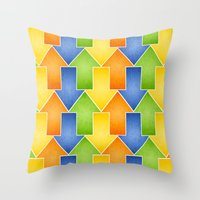 Zesty Fun  Throw Pillow