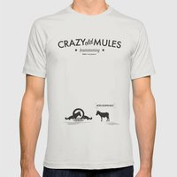 Crazy old Mule / Metro Goldwyn Mule Mens Fitted Tee Silver SMALL