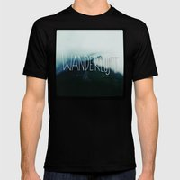 Wanderlust: Columbia Riv… Mens Fitted Tee Black SMALL