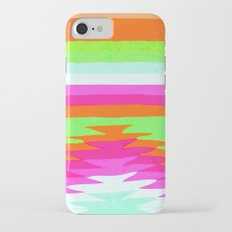 NEON SURF GIRL iPhone 7 Slim Case
