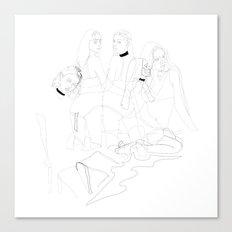 Bitch Collective Canvas Print