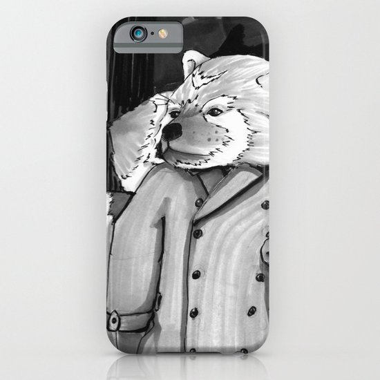 Panda Noir iPhone & iPod Case