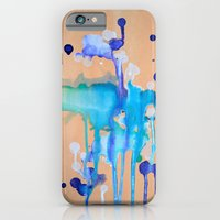 iPhone & iPod Case featuring Orchid I by NikkiMaths